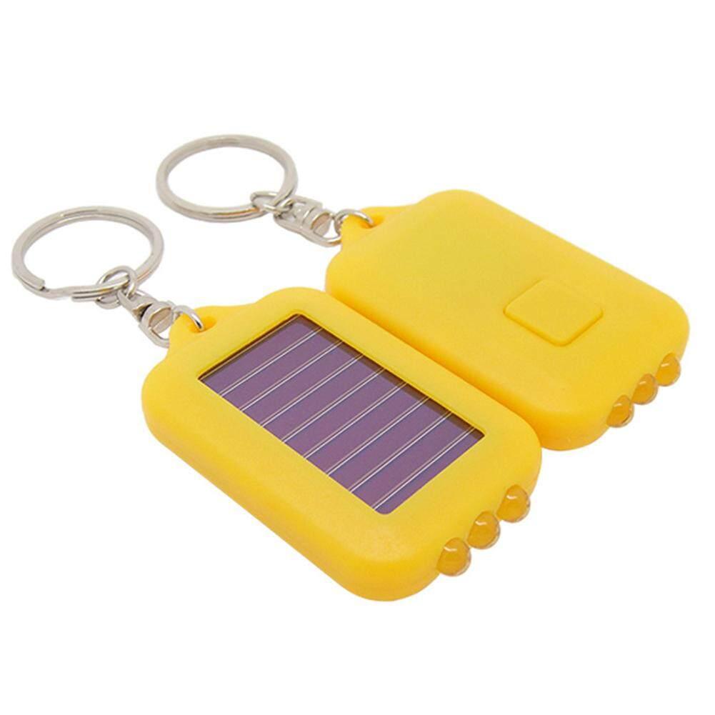 3 ĐÈN Sạc LED Bóng Đèn Mini Đèn Pin Năng Lượng Mặt Trời Lều Ngoài Trời Đa chức năng