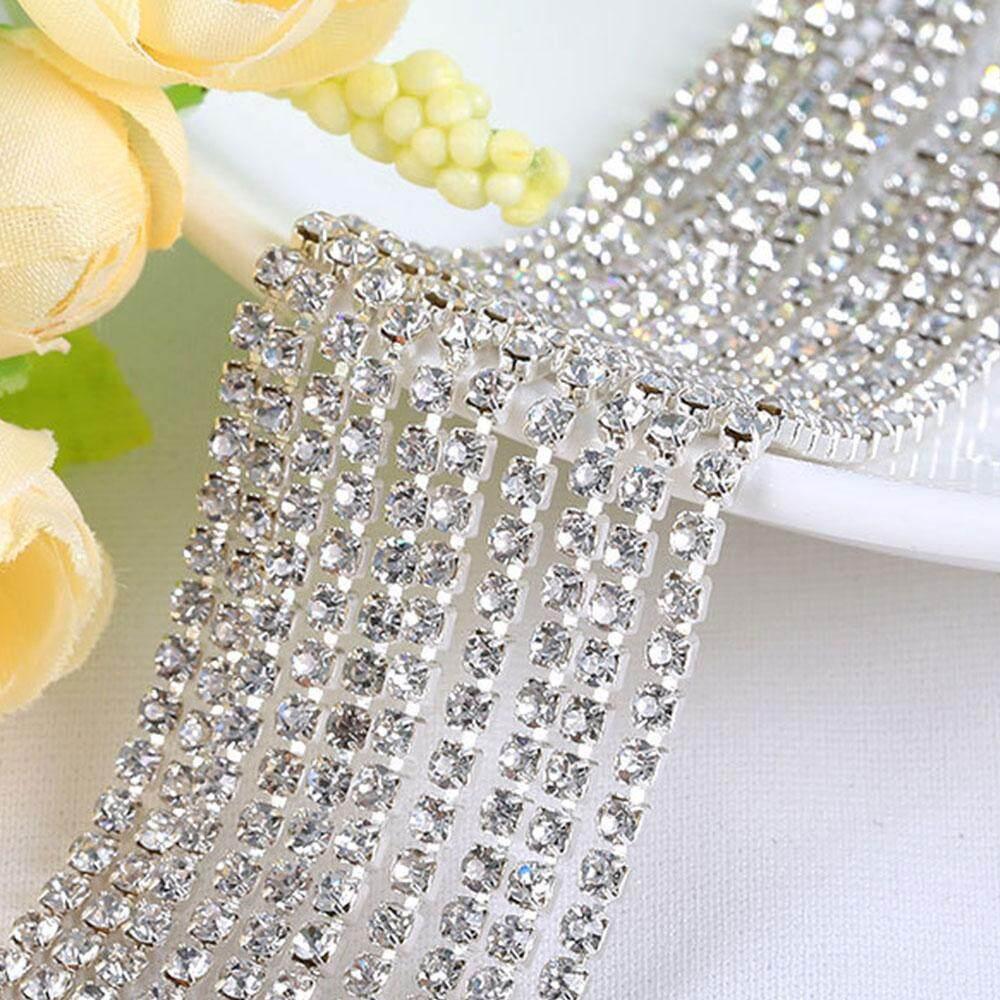 Diamond Mesh Wrap Ribbon Roll Cake Rhinestone Wedding Favor Decor Party Supplies