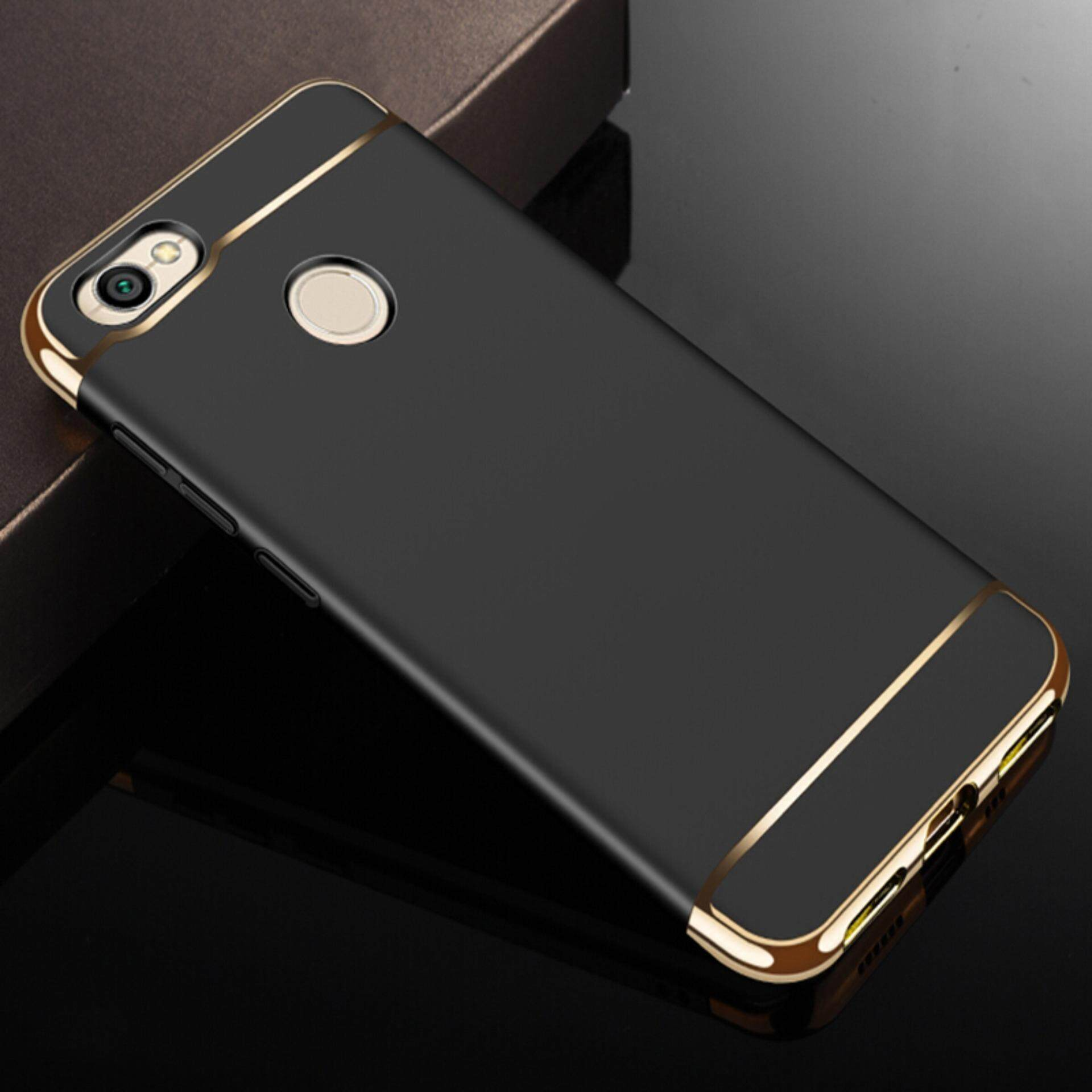3in1 Ultra-thin Electroplated PC Back Cover Case for Xiaomi Redmi Note 5A Prime /