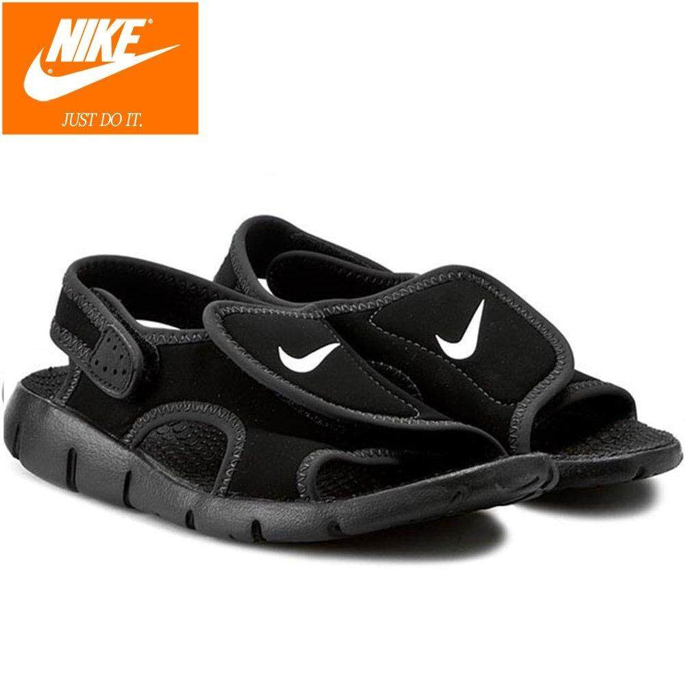 Nike Kids Sunray Adjust 4 Sports Sandal 386518-011 Black By Cns081.