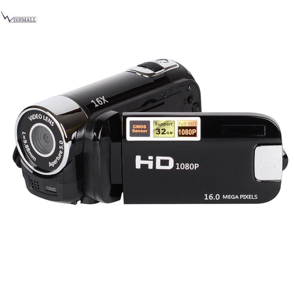 Wishmall DV Camcorder Digital Camcorder Video Camera 2.7 TFT-LCD 16X Zoom