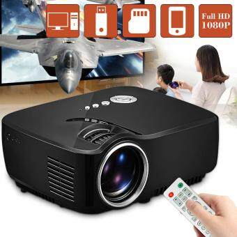 GP70 LCD Portable LED Projector 1080P Full HD 1200 Lumens HDMI USB FHD SD Home Theater Beamer
