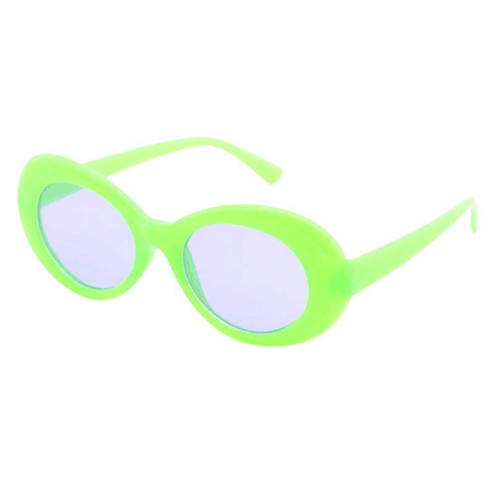 cedc9f2738f16 Product details of Ackeryshop Retro Vintage Clout Goggles Unisex Sunglasses  Rapper Oval Shades Grunge Glasses