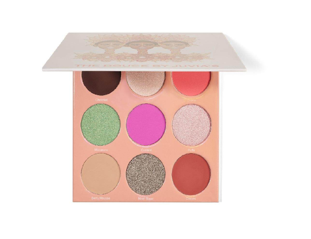 The Douce Eyeshadow Palette BY JUVIA'S