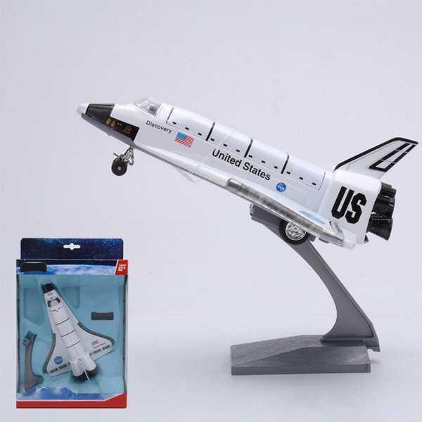 Starmall 8 Inch Paduan Kontrol Kekuatan Pesawat Luar Angkasa Kotak Lampu & Model Suara Pesawat Hadiah