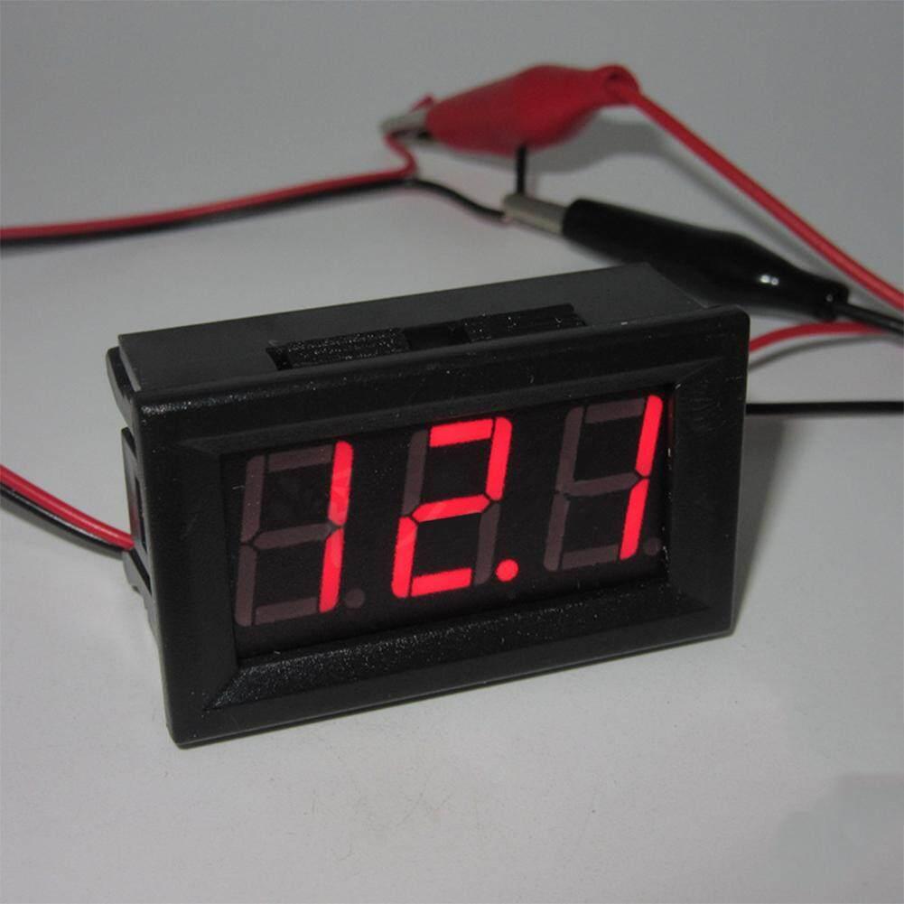 0 56 Inch 2 Wire Digital Voltmeter Ammeter Amp Volt Meter Dc 100v 10a Home Use Tool Lazada Ph