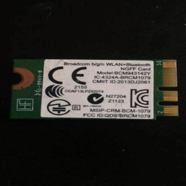 For Broadcom BCM943142Y 802.11bgn wifi + Bluetooth BT 753078-001 Wireless mini card
