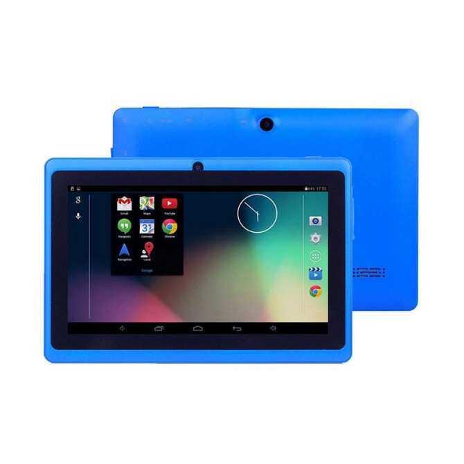 Newworldmall 7'' Kid's Children Tablet Quad Core Android 4.4 Dual Camera WiFi US Plug