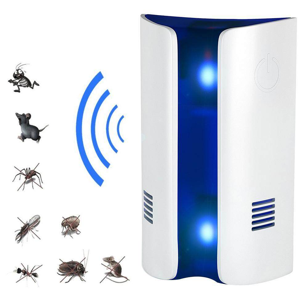 2019 Ultrasonic electromagnetic wave mosquito repellent electronic mosquito killer plug mosquito repellent micro light wave insect repeller repeller