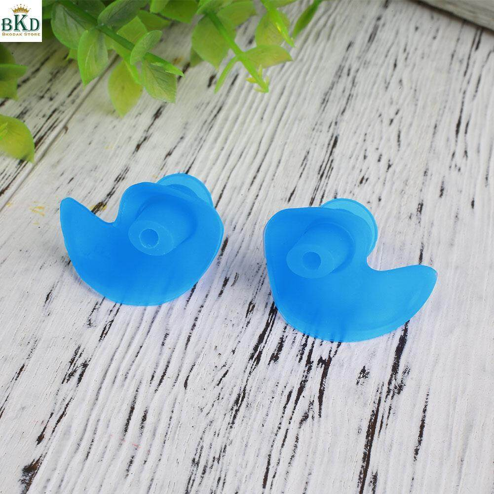 Adult Children Waterproof Silicone Swimming Diving Earplugs Anti-Noise Ear Plug