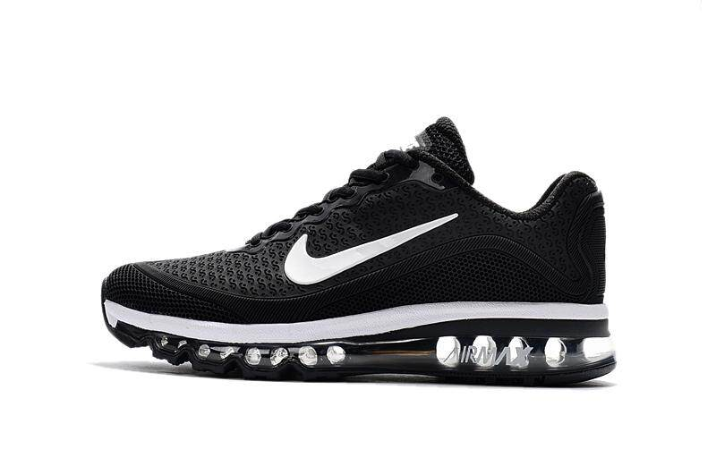 164992a31ba NIKE Original New Arrival 2017 AIR MAX Men s Running Shoes Lightweight  Sneakers (White Black