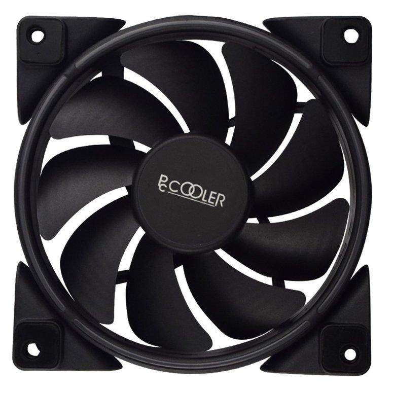 LIFEF PCCOOLER 12cm RGB Light PC Cooling Fan 4 Pin PWM Quiet PC Case Chassis Fan