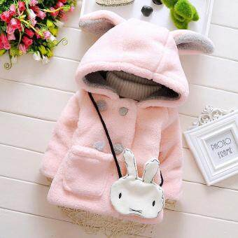 Baby Infant Girls Fur Winter Warm Hooded Coat Cloak Jacket Thick Warm Clothes