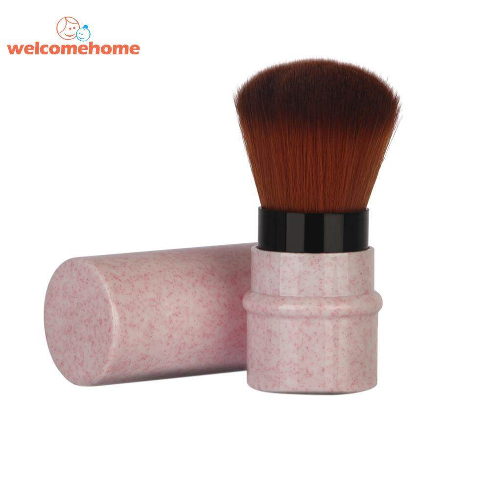 Retractable Makeup Brush Mini Portable Pro Powder Blush Brush Cosmetic Tool