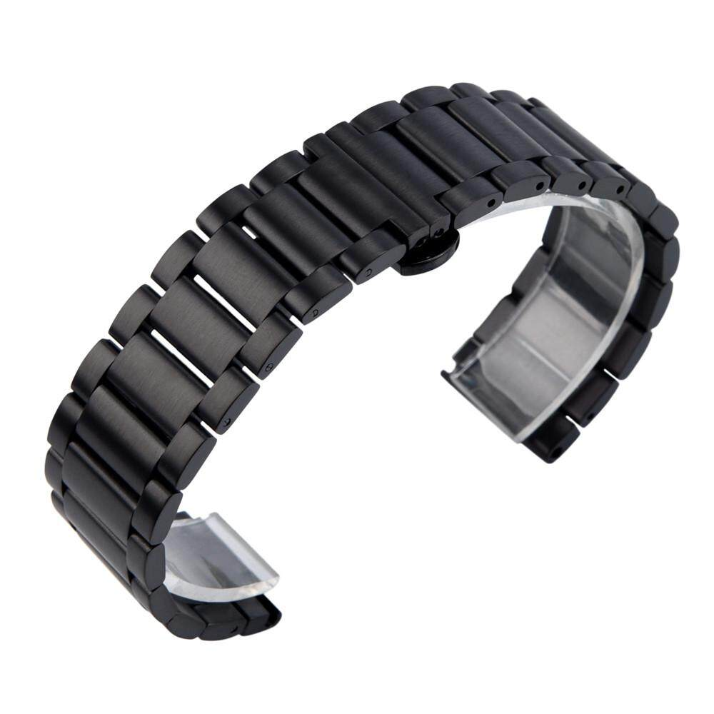 Qyshop Stainless Steel Bracelet Watch Band Strap For Huami Amazfit Bip Youth Watch BK