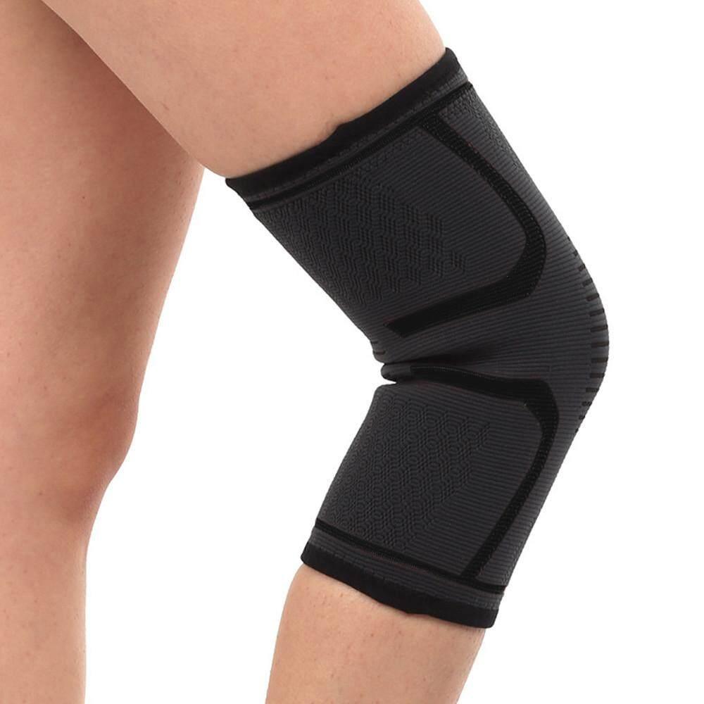 Carverstore 2019 2X Lengan Lutut Pelindung Lutut Dukungan untuk Sport Nyeri Sendi Arthritis Relief S