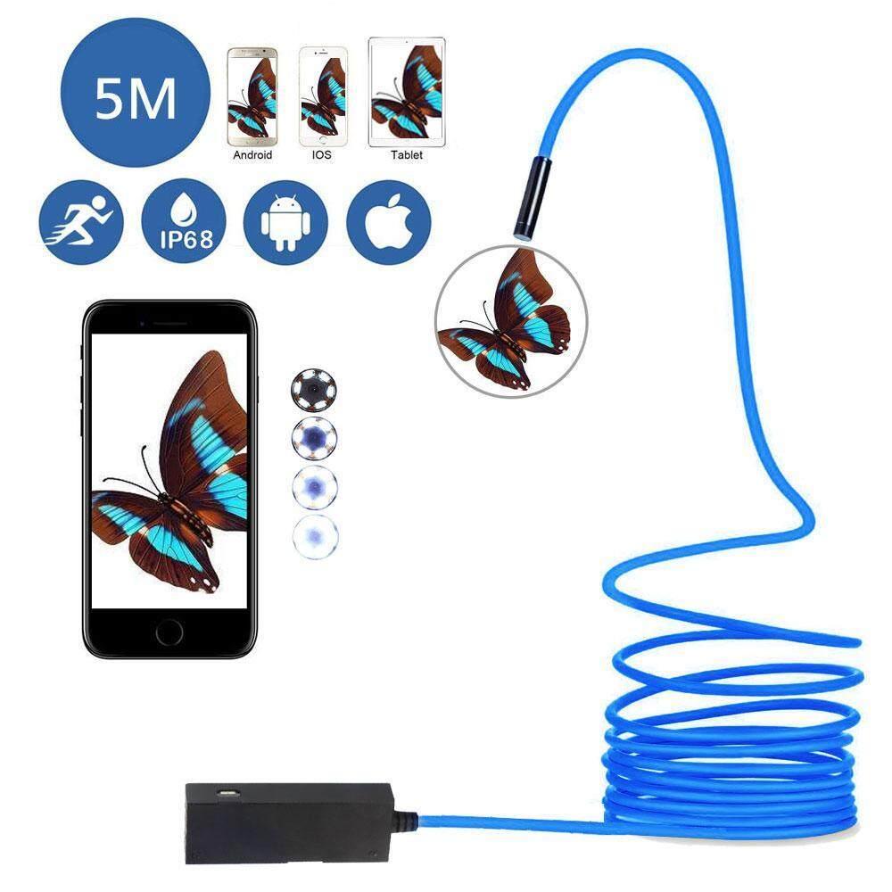 sougou 5 5mm Lens Android OTG USB Endoscope Camera 7M 6LED Tube Camera Android Snake Borescope USB Phone Smart Inspection