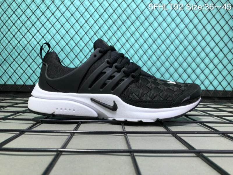 sale retailer 562f8 2d0fb 2019 Nike Air Presto BR QS Men s Running Shoe Lightweight Casual Sports  Sneakers (White