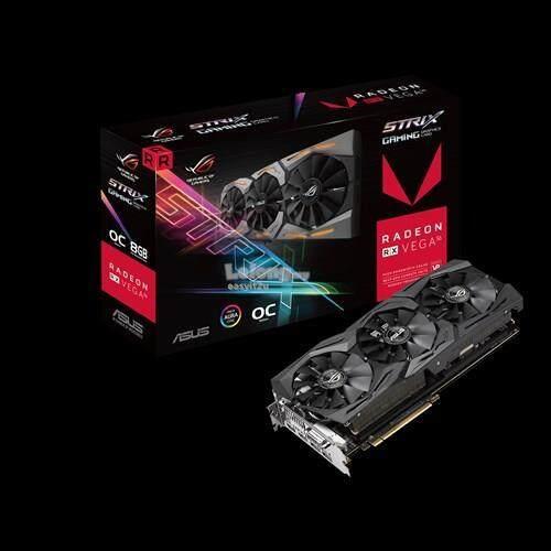 ASUS RX VEGA 56 STRIX OC 8GB GDDR5 2048BIT (RXVEGA56-O8G-GAMING)