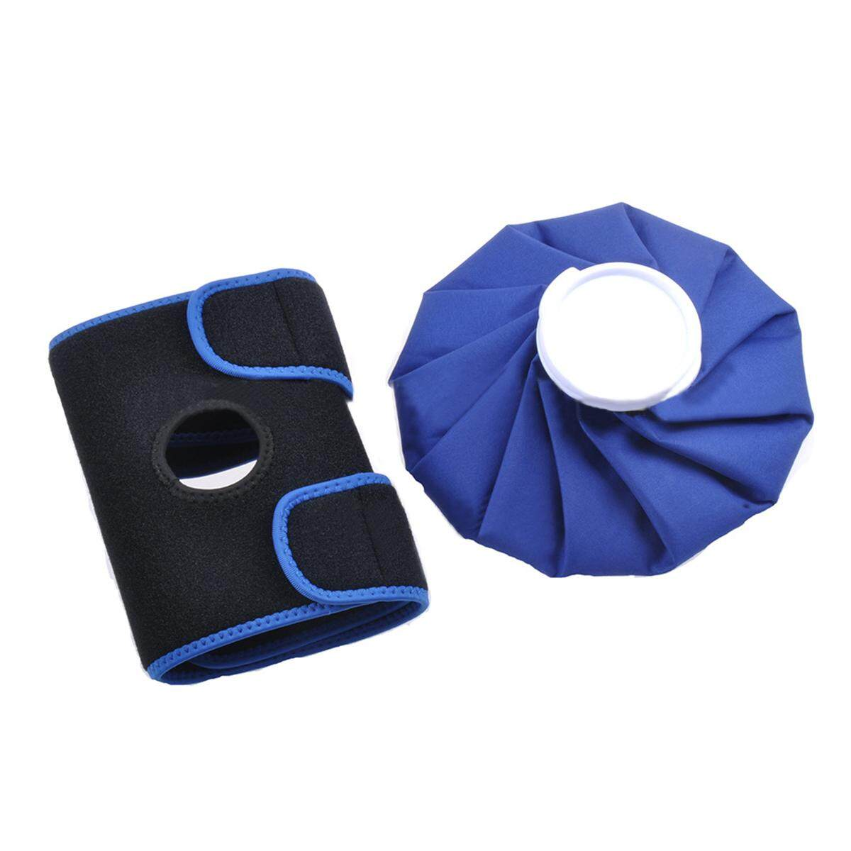 Pain Relief Hot Cold Therapy Reusable Ice Bag Pack & Wrap For Knee Shoulder Back #9inch