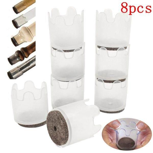 8pcs Furniture Flexible Pad Floor Scratch Slider Protectors Feet Cover Mat Leg