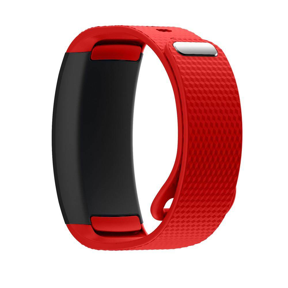 Fanestiy Soft Silicone Replacement Band Sport Strap For Samsung Gear Fit2 Pro Fitness BU