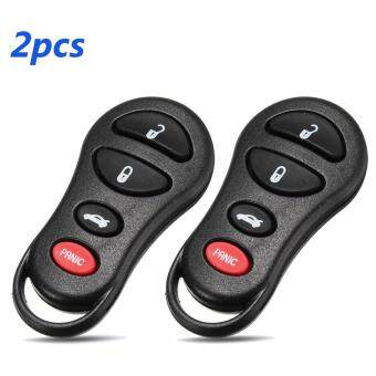 2pcs 3+1Button Entry Remote Car Key Fob for Jeep Dodge Chrysle