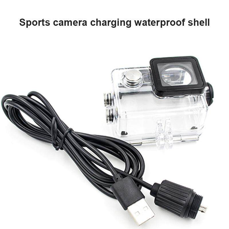 YBC Waterproof Case With USB Cable Charger Cover for SJCAM Sj4000 Sj7000 Sj9000 - intl