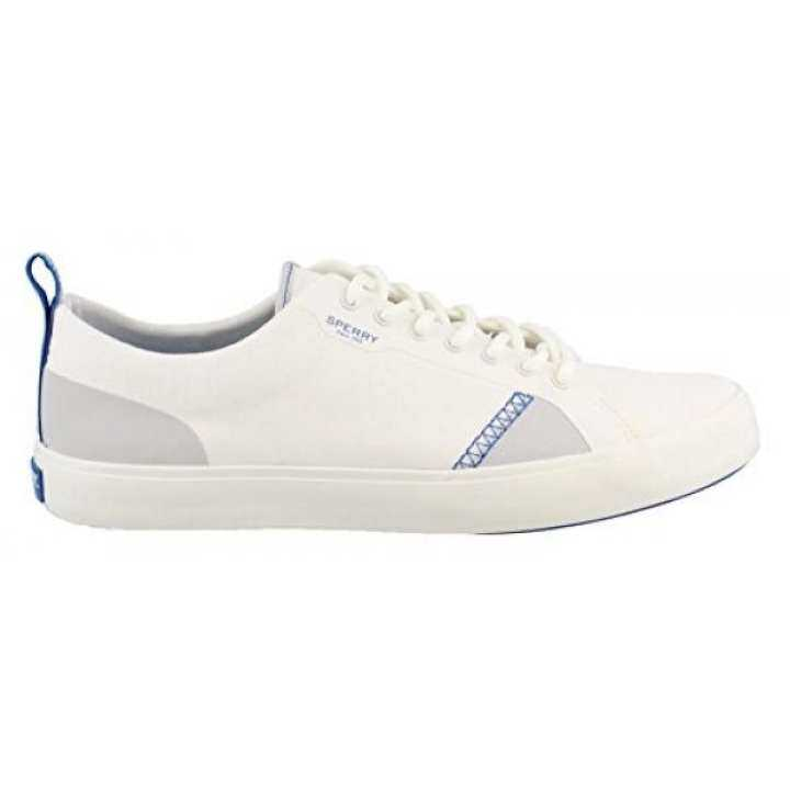Sperry White, Top-Sider Mens Flex Deck LTT Canvas Sneaker, White, Sperry edium US 76b4c4