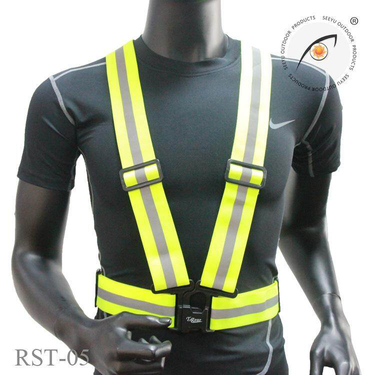 A-SAFETY Reflective Vest Dark-Blue Fully Adjustable /& Multi-Purpose: Running Motorcycle Safety Cycling Dog Walking High Visibility Neon Colors