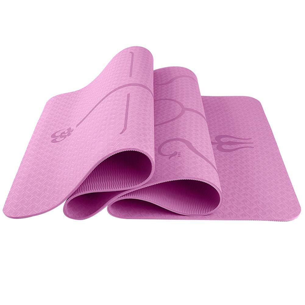 Bảng giá Du Lịch Xanh 6 Mm Đa Chức Năng Bảo Vệ Môi Trường Tập Yoga Miếng Lót Thảm Tập Yoga TPE Tập Thể Hình Miếng Lót Thân Dây Phong Cách
