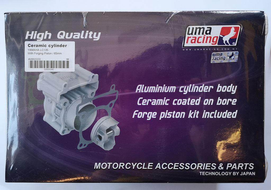 UMA RACING CYLINDER BLOCK YAMAHA LC135 WITH FORGING PISTON (65MM)