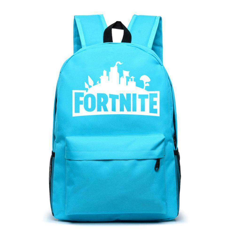 Aolvo Fortnite Luminous Backpack School Bags, Notebook Laptop Backpack Rucksack Satchel Hiking Bag for Kids Boys Girls,48*32*10cm