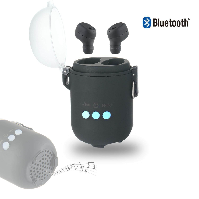 ลดล้างสต๊อก หูฟัง Unbranded/Generic ชุดหูฟังไร้สายบลูทูธ EarPods สำหรับ i Phone Sam-sung  S6 สเตอริโอ CVC - [clearance] อ่านรีวิวจากผู้ซื้อจริง