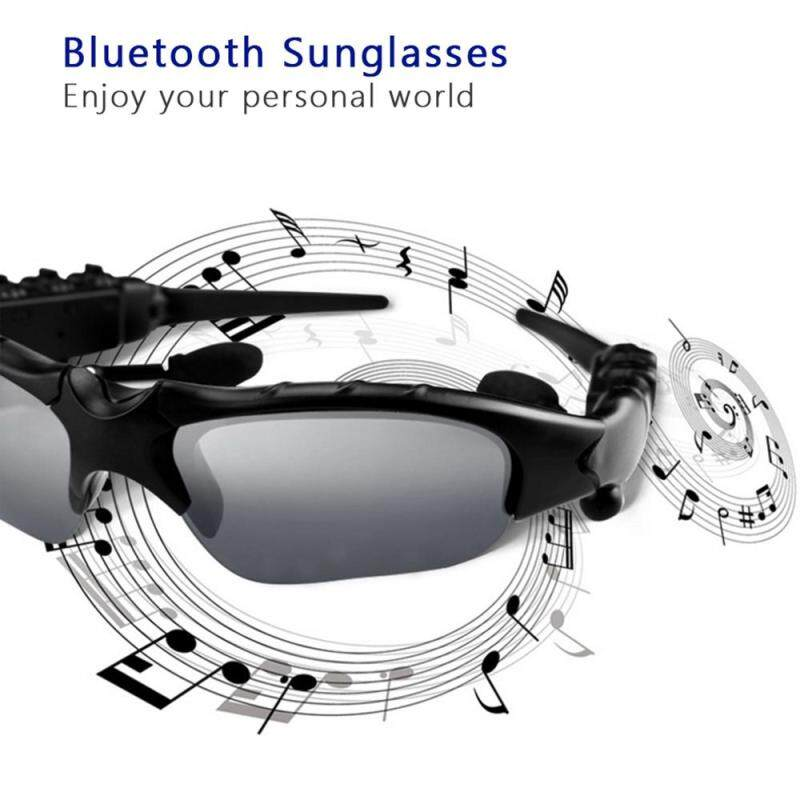 Detail Gambar Mirval HBS Sport Stereo Wireless Bluetooth 4.1 Headset Telephone Driving Sunglasses/mp3 Riding Eyes Glasses With colorful Sun lens (Free ...