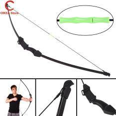 OIKEA Durable Professional Child Bow Arrow Hunting Bow Black 15 Pounds Hard