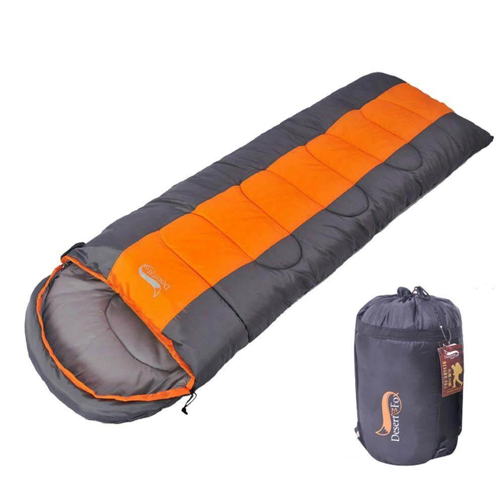 Large 5°C to 12°C GEERTOP 3-Season Envelope Sleeping Bag Lightweight