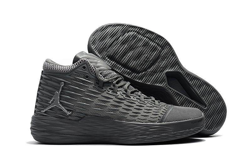 c069a41ca821 Nike Jordan Men s Jordan Melo M13 Basketball Shoe Breathable Sneaker (Grey)