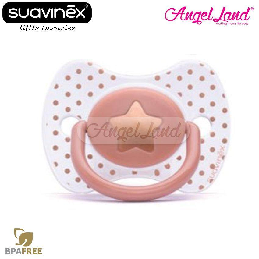 Suavinex Haute Couture Physio Silicone Soother 0-4m 302282 (Girl)