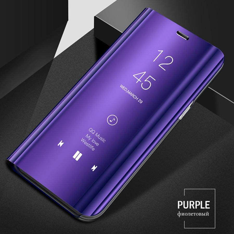 For Samsung Galaxy Note 9 Clear Smart View Mirror Flip Case Stand Cover  Protection Plating Casing For Samsung Galaxy Note 9 Best Quality in Stock