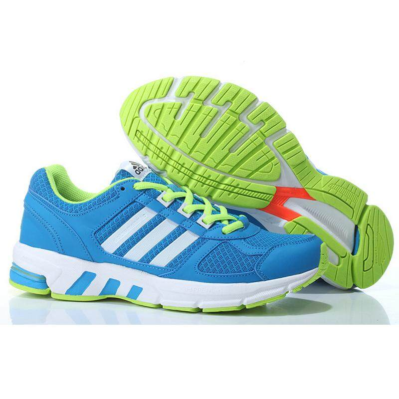differently 17d11 25b54 Adidas Equipment Men s Running Sneakers Shoes Breathable Sports Shoes  (Blue Yellow)