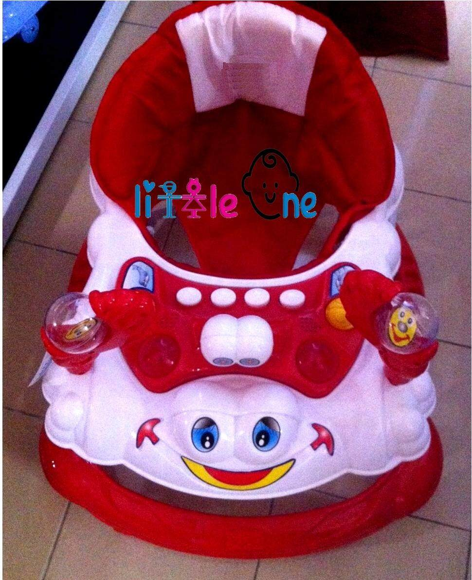 My Baby Exclusive Baby Walker Siput With Stopper With English Music! BEST BUY! RED