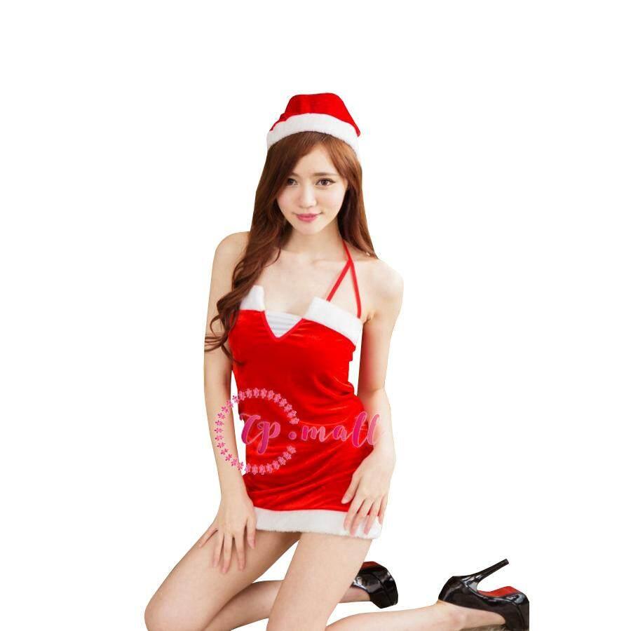 CP Mall Women Sexy Christmas Nightwear Cosplay Costume - FF67