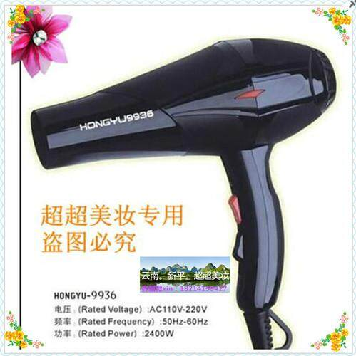 The Hong day Ming is virtuous especially especially big power professional hair dryer 2400 W hair gallery the household-use hair care store blow breeze to take joss-stick breeze