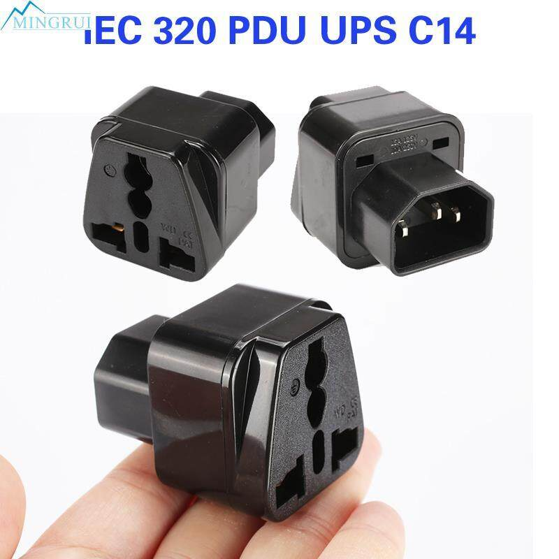 Mingrui Store UPS C14 IEC 320 Female Plug Power Adapter Plug Computer Plug