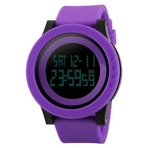 SKMEI 1142 Jenama Jam Tangan Lelaki Jam Tangan Sukan Tentera Mode Silikon Kalis Air Membawa Jam Tangan Digital untuk Lelaki lelaki Jam