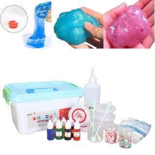 Bộ Slime Phù Hợp, Làm Của Riêng Của Bạn Trẻ Em Gloop Đồ Chơi Tự Làm Cảm Giác, Bộ Phận Trò Chơi Khoa Học thumbnail