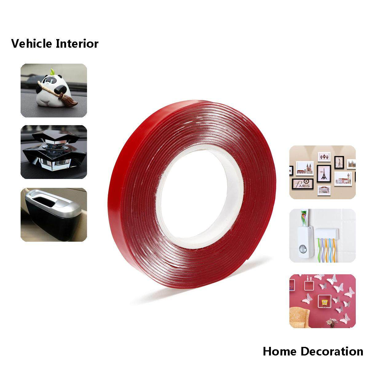 3m strong acrylic adhesive film 30mm 3M4910VHB double sided tape for glass High temperature resistant non-trace