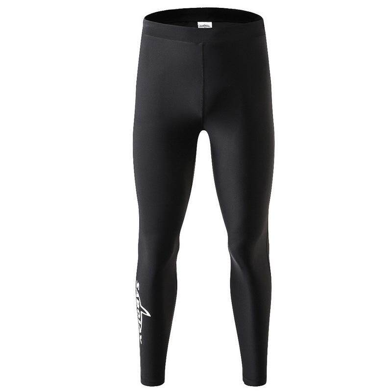 Quick Dry Men Diving Snorkeling Pants Rashguards Stretchy Surfing Swimming Pants Rash Guards Long Pants Outdoor Sports Tights