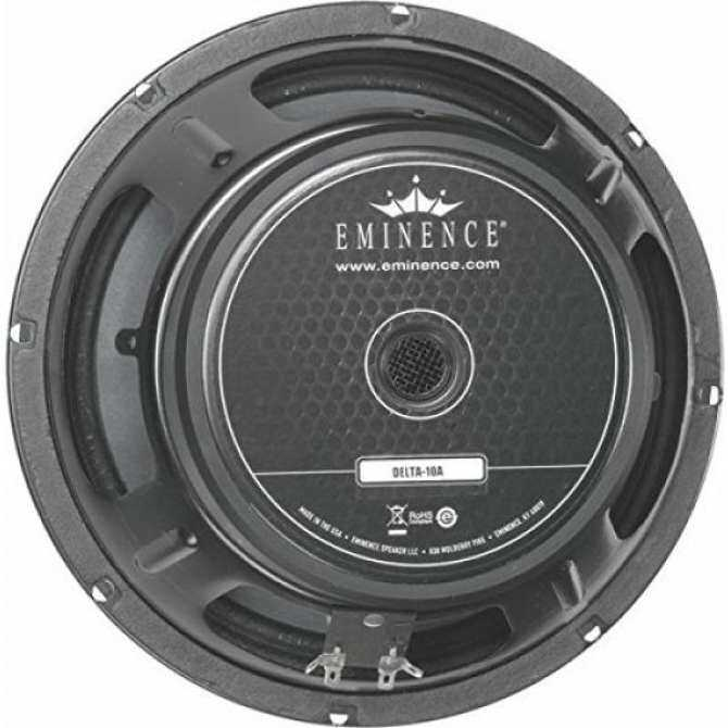"Eminence American Standard Delta 10A 10"" Replacement Speaker, 350 Watts at 8 Ohms"